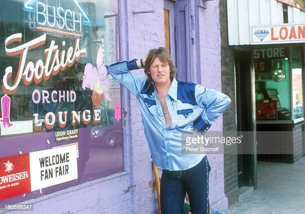 Gunter Gabriel Nashville/Tennessee/USA/Nordamerika Broadway Spaziergang Bummel