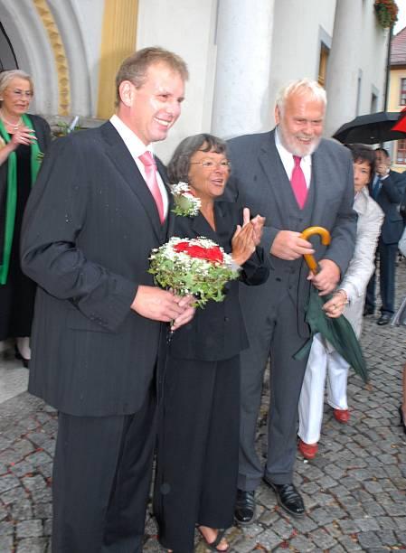 Gunther Emmerlich Re Brautigam Sven Hoep Unehelicher Sohn V