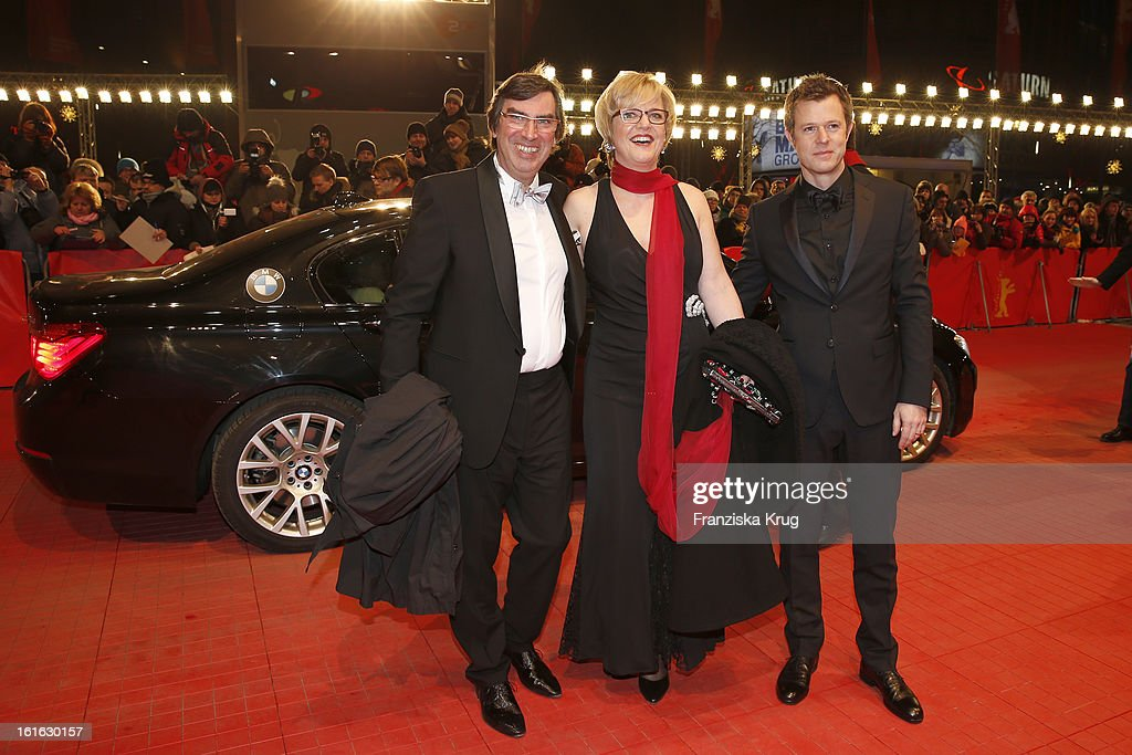 Gunther Russ (L) and guests attend the 'Night Train To Lisbon' Premiere - BMW at the 63rd Berlinale International Film Festival at Berlinale Palast on February 13, 2013 in Berlin, Germany.