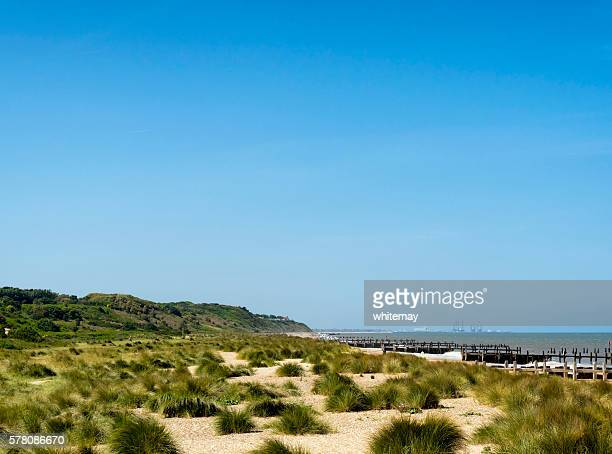 Gunton Denes beach, Suffolk