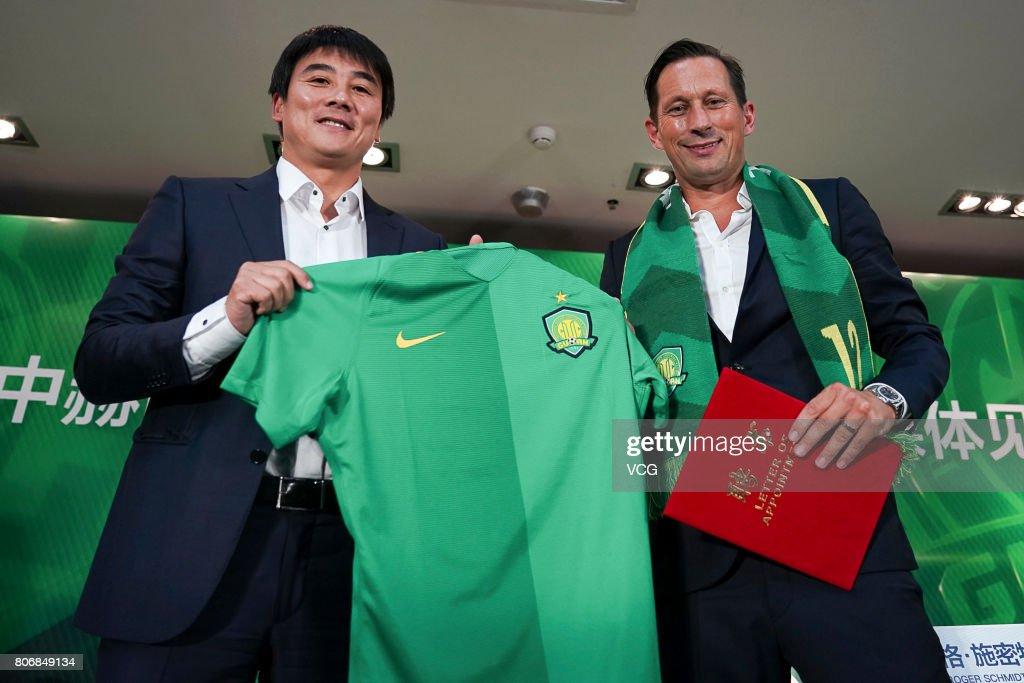 Roger Schmidt Serves As Head Coach Of Beijing Guoan FC