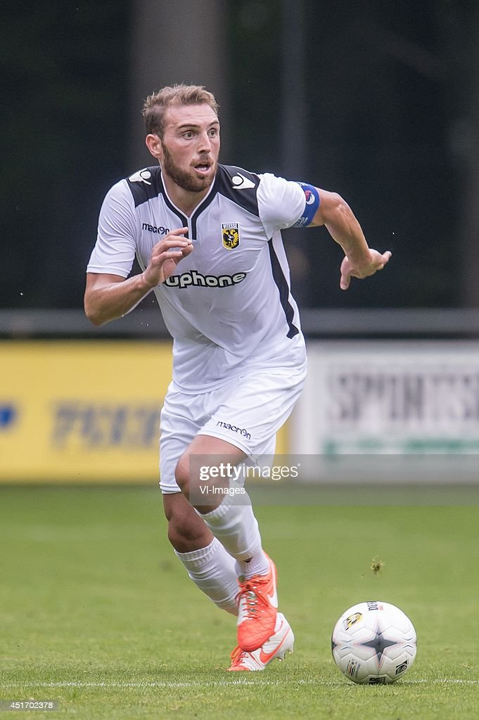 Guram Kashia of Vitesse during the friendly match between Vitesse and Cercle Brugge on July 4, 2014 at Sportpark Loenermark at Loenen, The Netherlands.