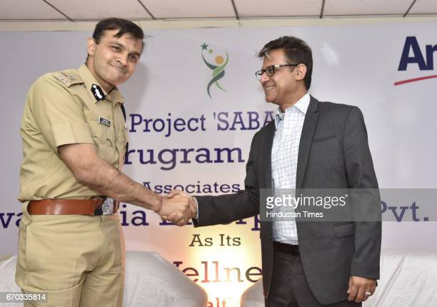 Gurgaon Police Commissioner Sandeep Khirwar and Anshu Budhraja General Manager of Amway India tieup to provide women security in the city more than...