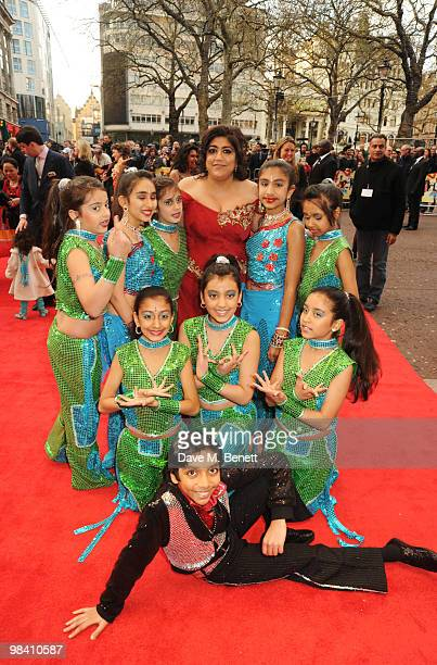 Gurinder Chadha arrives at the UK film premiere of 'It's A Wonderful Afterlife' at the Odeon West End on April 12 2010 in London England