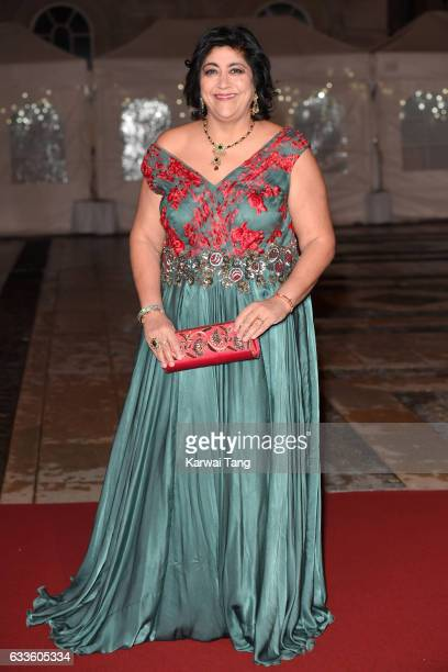 Gurinder Chadha attends a reception and dinner for supporters of The British Asian Trust on February 2 2017 in London England