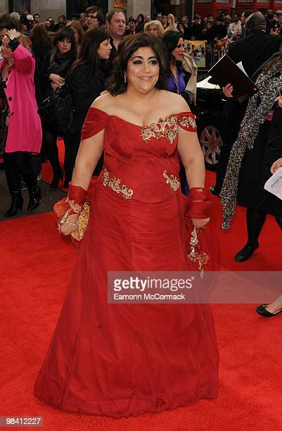 Gurinder Chadha attends the 'It's a Wonderful Afterlife' UK Premiere at the Odeon West End cinema on April 12 2010 in London England