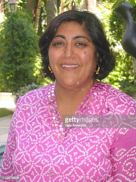 Gurinder Chadha director during 'Bend it Like Beckham' Press Conference with Gurinder Chadha at Four Seasons Hotel in Beverly Hills California United...