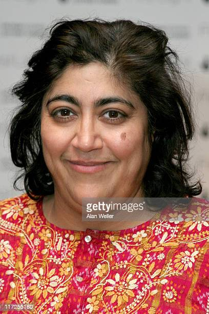 Gurinder Chadha during 2006 First Light Film Awards Press Room at Sound Leicester Square in London Great Britain