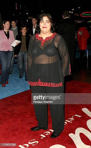 Gurinder Chadha during 'Alfie' World Charity Premiere in Aid of 'Make A Wish' Arrivals at Empire Leicester Square in London Great Britain