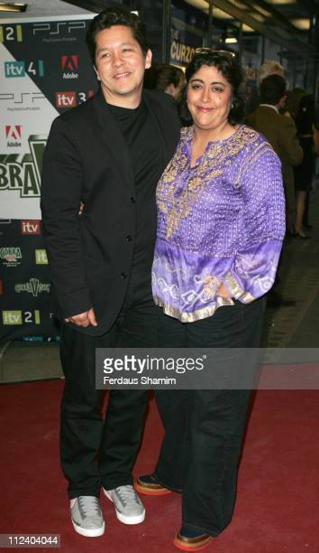 Gurinder Chadha during The Cobra Vision Awards 2006 Inside Arrivals at Curzon Mayfair in London Great Britain