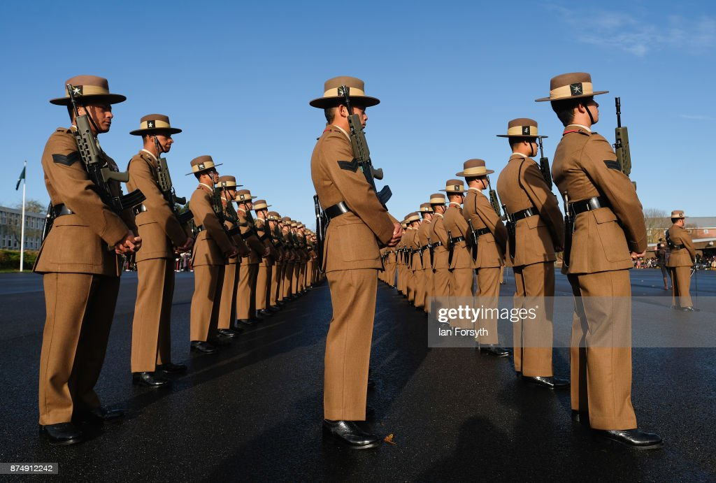 Armed Forces Minister Attends Gurkhas Pass Out Parade