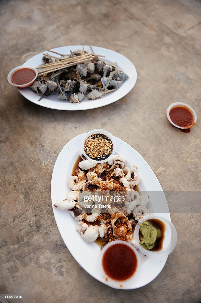 Gurney drive seafood : Stock Photo
