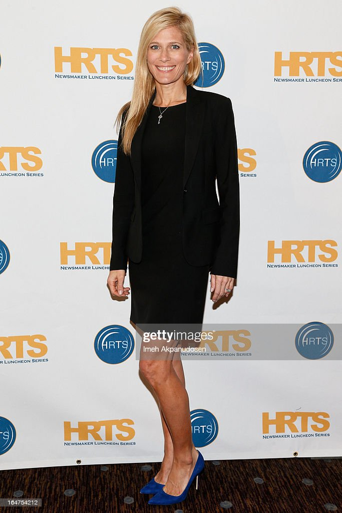 Gurney Prodcutions Co-Founder/Executive Producer Deirdre Gurney attends the HRTS 'Non-Scripted Hitmakers' Luncheon Panel at The Beverly Hilton Hotel on March 27, 2013 in Beverly Hills, California.