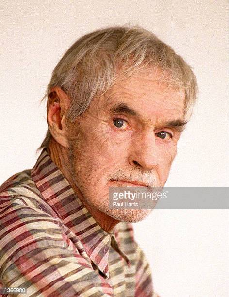 LSD guru Timothy Leary poses for a portrait October 15 1995 in Bel Air California Leary died on May 31 1996 at the age of 75