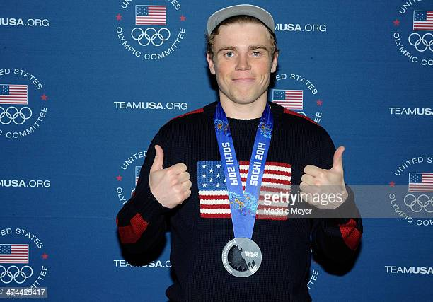 Gus Kenworthy attends the US Olympic Committee's Team USA Club Event to celebrate the 2014 Winter Olympic Games at Grand Central Terminal on February...