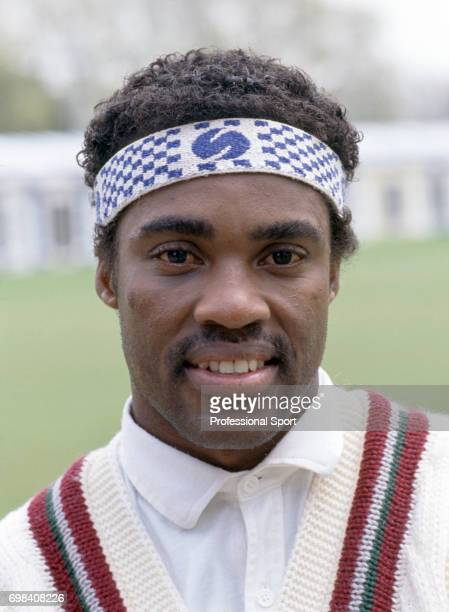 Gus Logie of West Indies during the 1991 tour of England circa May 1991