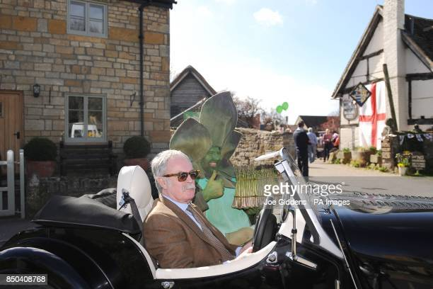 Gus the Asparagus man sets off on his journey to London after the launch of British asparagus season A host of asparagus fans gather today St Georges...
