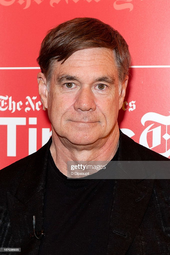Gus Van Sant attends TimesTalks presents An Evening With Matt Damon & Gus Van Sant at The Times Center on November 27, 2012 in New York City.