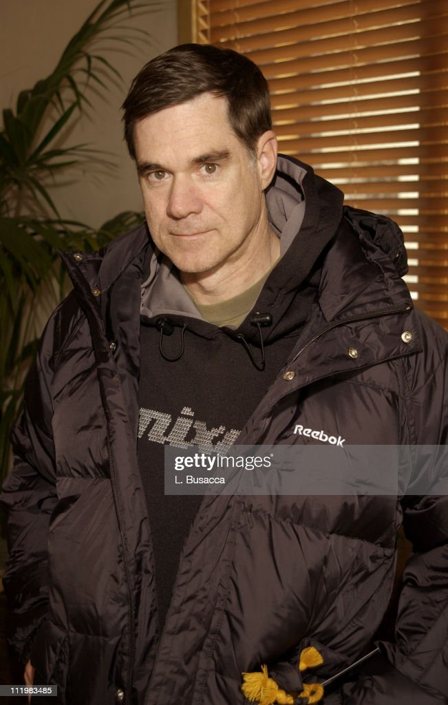 Gus Van Sant visits the Reebok Retreat at the 2002 Sundance Film Festival in Park City, Utah.