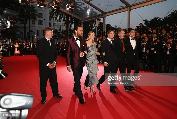 Gus Van SantMatthew McConaugheyNaomi WattsChris Sparling and guests attend the Premiere of 'The Sea Of Trees' during the 68th annual Cannes Film...