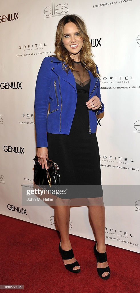 Gusford Gallery owner Kelsey Lee Offield attends Genlux Magazine's Hosting of Photographer Gilles Bensimon's portraits at the Sofitel Hotel on October 29, 2013 in Los Angeles, California.