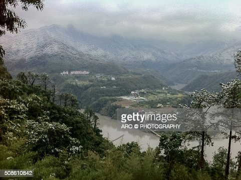 Gussets Mountain, Taiwan Taoyuan District : Stock Photo