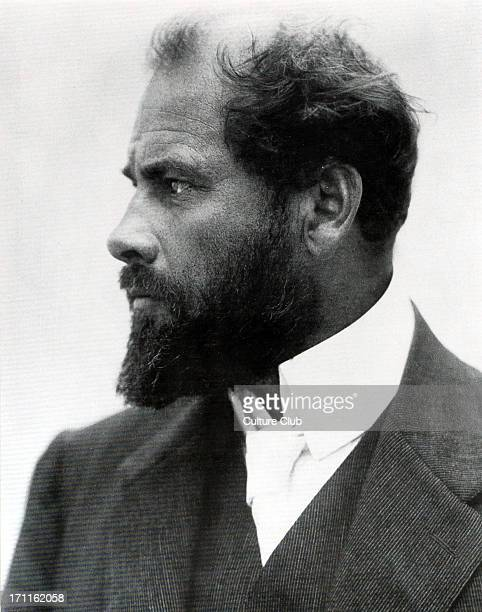 Gustav Klimt portrait c1909 Austrian painter and graphic artist born in Vienna 18621918 Mahler's Vienna Austrian Symbolist painter and member of...