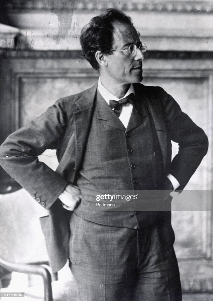 <a gi-track='captionPersonalityLinkClicked' href=/galleries/search?phrase=Gustav+Mahler&family=editorial&specificpeople=237129 ng-click='$event.stopPropagation()'>Gustav Mahler</a> (1860-1911) photo taken during his directorship of the Imperial Opera in Vienna. Vienna State Library. BPA2# 776