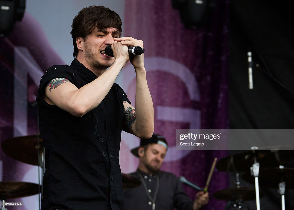 Gustav Wood of Young Guns performs during 2013 Rock On The Range at Columbus Crew Stadium on May 18, 2013 in Columbus, Ohio.