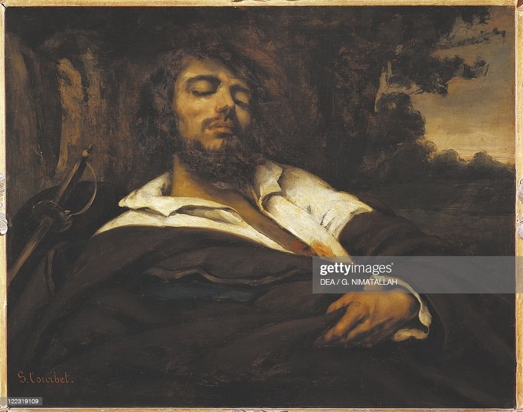 Gustave Courbet The Wounded Man