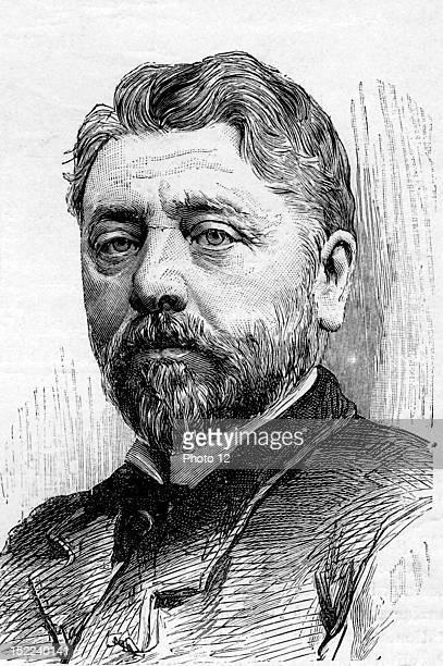 Gustave Eiffel French engineer Engraving
