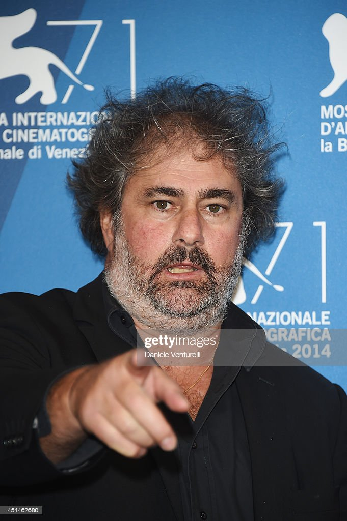 Gustave Kervern attends the 'Near Death Experience' Photocall during the 71st Venice Film Festival at Palazzo Del Cinema on September 1 2014 in...