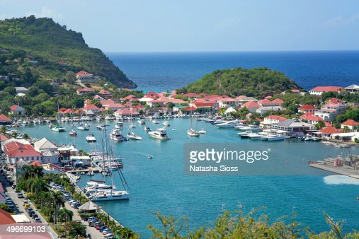 Gustavia Harbor in St. Barthelemy.