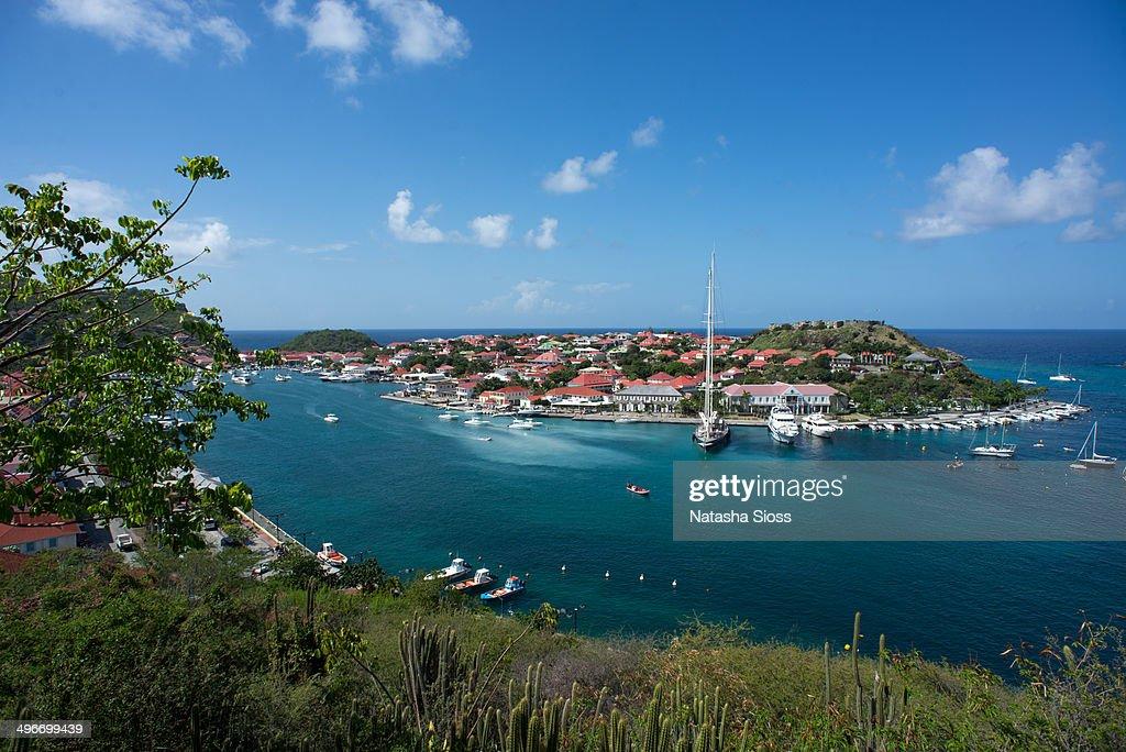 Gustavia Harbor in St. Barthelemy.