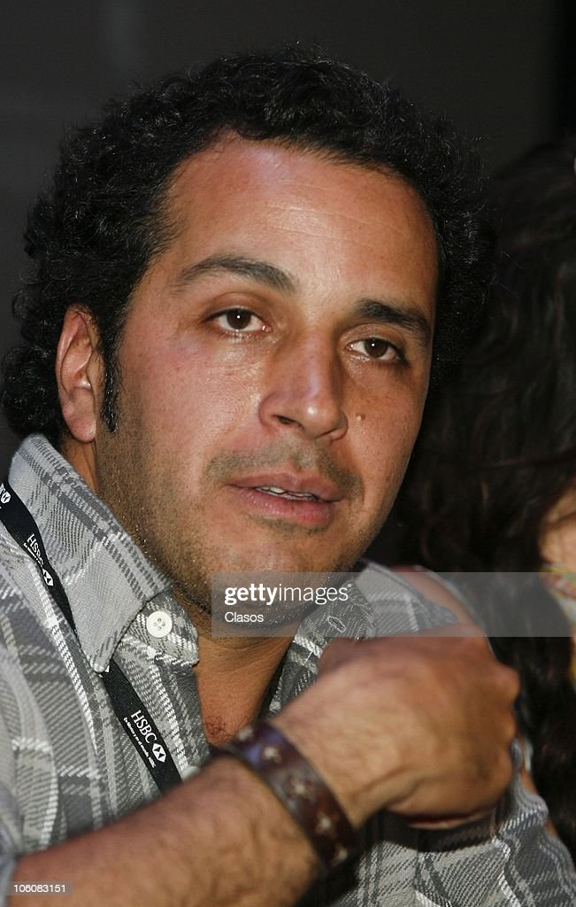 Gustavo Loza of the movie La Otra Familia, during a press conference as part of the 8th Morelia International Film Festival on October 23, 2010 in Morelia, Mexico.