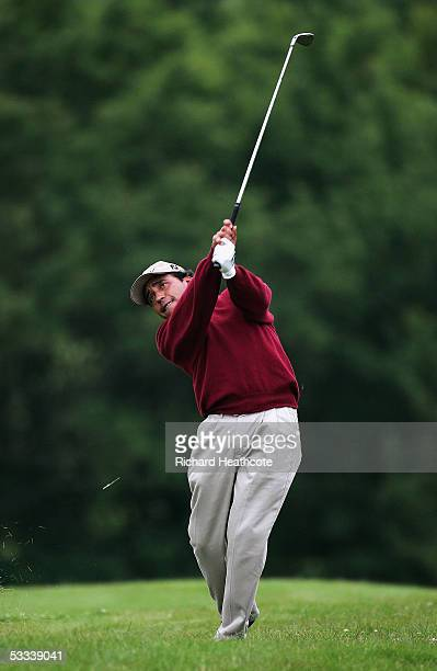 ST OMER FRANCE JUNE 16 Gustavo Rojas of Argentina during the first round of the Aa St Omer Open at the St Omer golf club on June 16 2005 in St Omer...