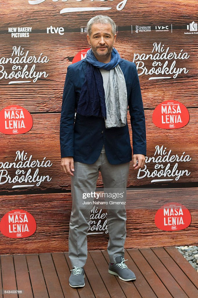 Gustavo Ron attends 'Mi Panaderia en Brooklyn' at Hospes Hotel on June 28, 2016 in Madrid, Spain.