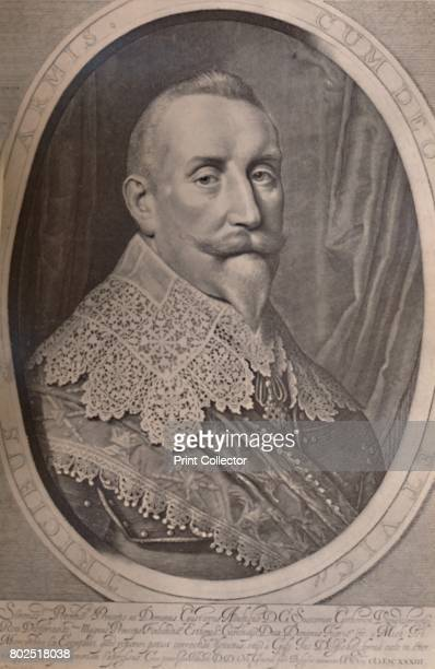 Gustavus Adolphus King of Sweden 17th century From A Collection of Engraved Portraits Exhibited by the Late James Anderson Rose at the Opening of the...