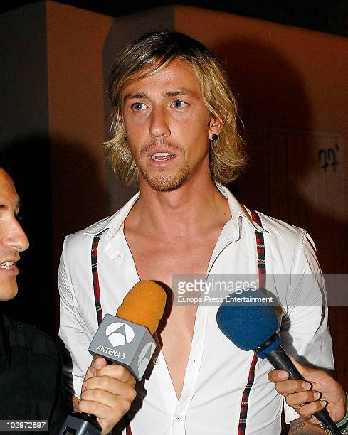 Guti attends the 'Pasarela Moda ADLIB' fashion show on July 17 2010 in Ibiza Spain