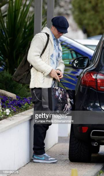 Guti is seen at Ruber International Hospital on January 13 2013 in Madrid Spain