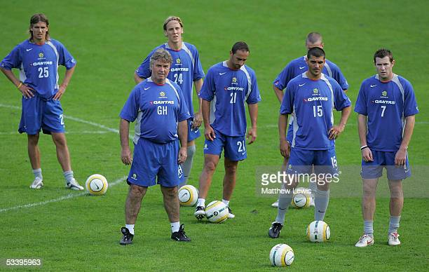 Guus Hiddink the new Sooceroos manager pictured during the Socceroos Training Camp ahead of the World Cup qualifying match with the Soloman Islands...