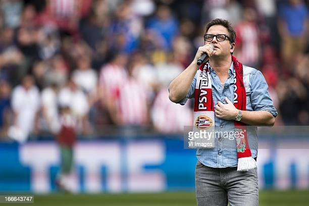 Guus Meeuwis during the Dutch Eredivisie match between PSV Eindhoven and Ajax Amsterdam at the Philips stadium on April 14 2013 in Eindhoven The...