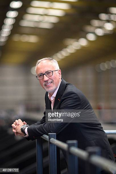 Guy Buswell chief executive officer of UK Mail Group Plc poses for a photograph at the postal company's sorting office in Birmingham UK on Thursday...
