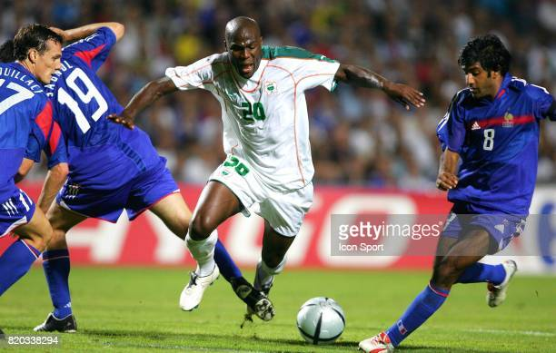 Guy DEMEL / Willy SAGNOL France / Cote d'Ivoire Match Amical a Montpellier