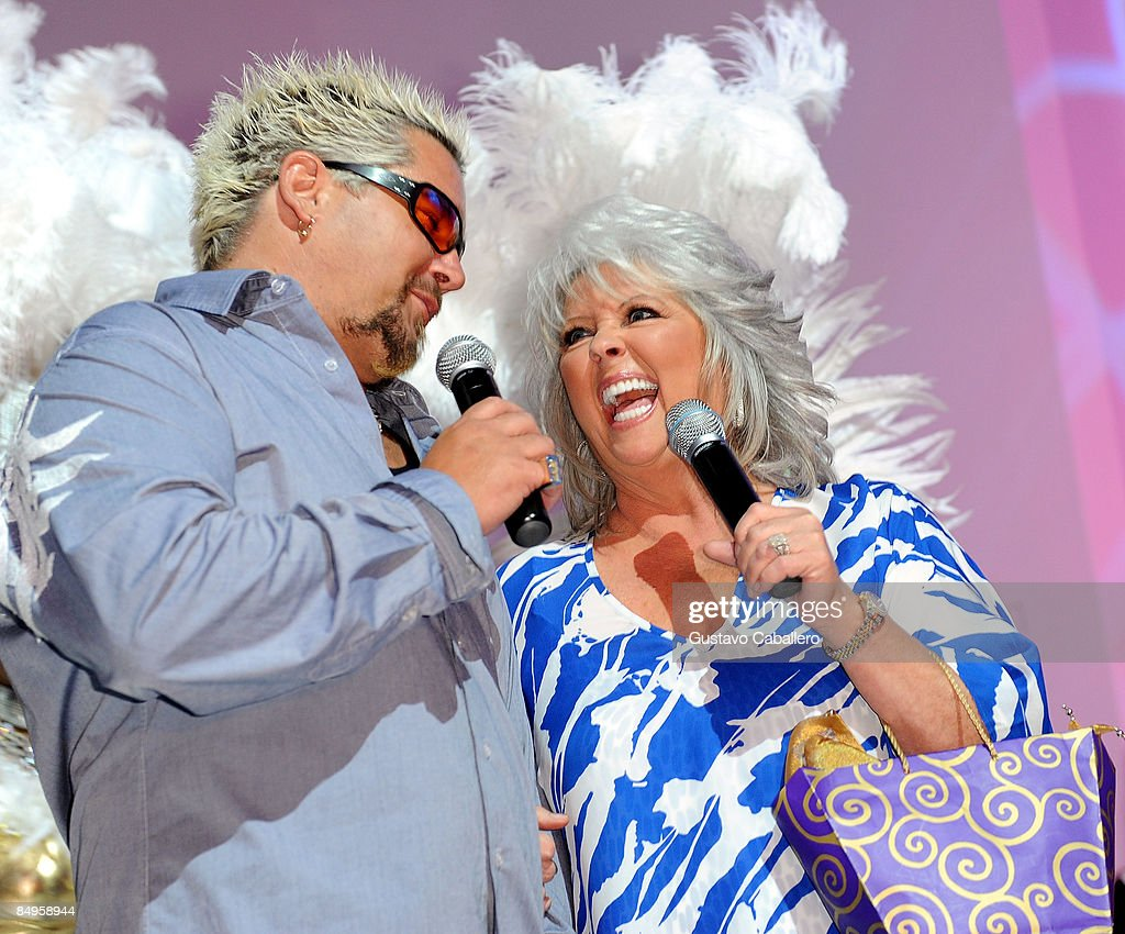 Paula deen photo getty images - Guy Fieri And Paula Deen Appear On Stage During Harrah S Casino Night Hosted By Paula Deen