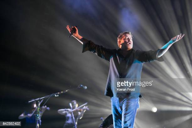 Guy Garvey of Elbow performs at Electric Picnic Festival at Stradbally Hall Estate on September 3 2017 in Laois Ireland