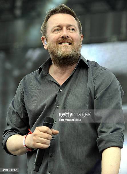 Guy Garvey of Elbow performs during the Saquatch Music Festival at the Gorge Amphitheater on May 25 2014 in George Washington