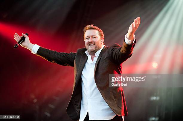 Guy Garvey of Elbow performs on stage during Electric Picnic on September 2 2012 in Stradbally Ireland