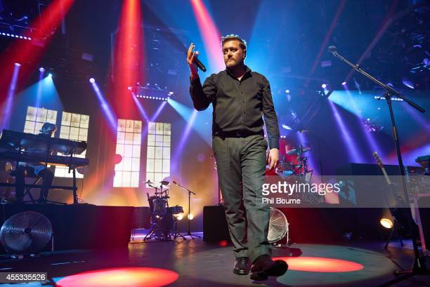 Guy Garvey of Elbow performs on stage for iTunes Festival at The Roundhouse on September 12 2014 in London United Kingdom