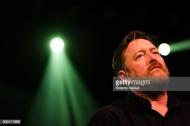 Guy Garvey performs on stage at O2 ABC Glasgow on December 8 2015 in Glasgow Scotland